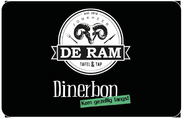 Jonkheer de Ram Dinerkaart